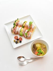 AEGオーブン料理講習会華やかちぎりパン・あったか根菜スープ