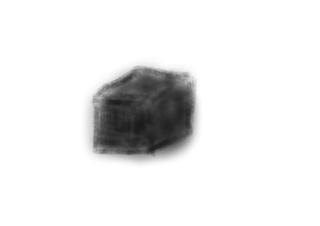 ペンタブで描いた立方体